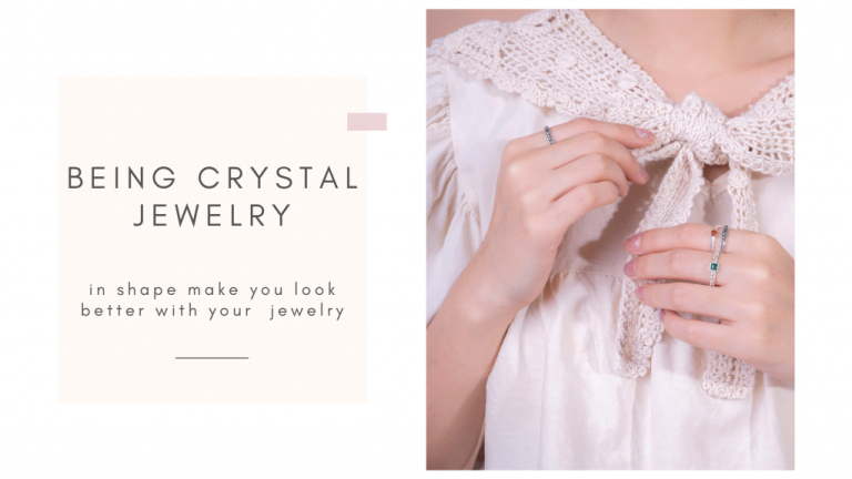 Being crystal jewelry in shape make you look better with your precious jewelry: superfood part 2