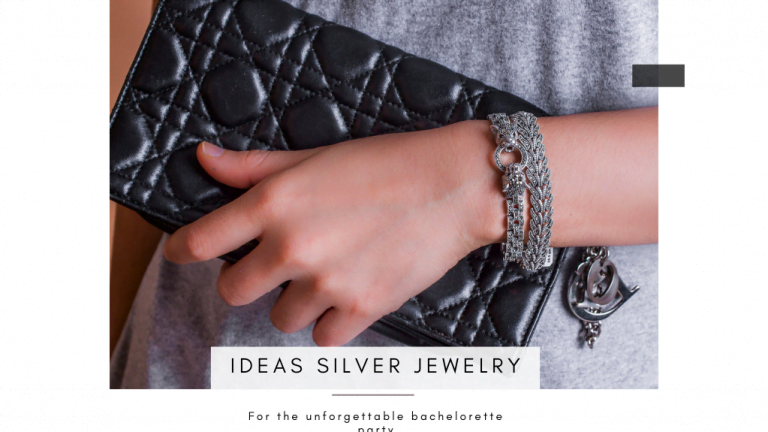 Ideas silver jewelry for the unforgettable bachelorette party